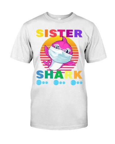 Sister shark mask