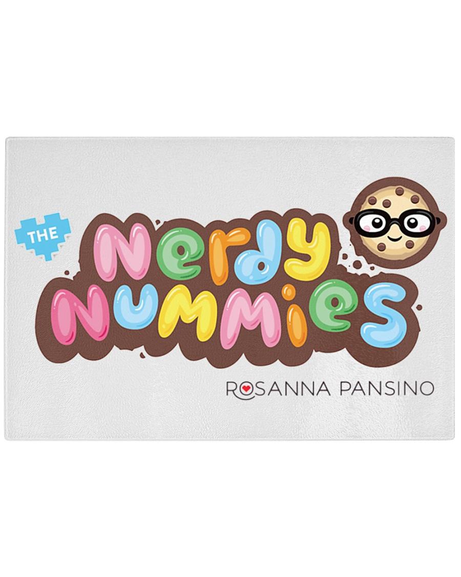 Nerdy Nummies Rectangle Cutting Board