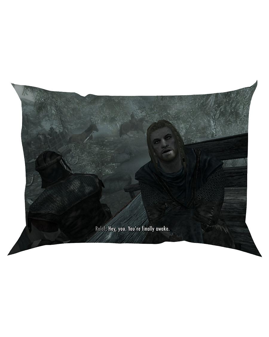 You're finally awake Pillow Rectangular Pillowcase