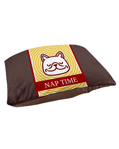 Dog Nap Time Pillow Bed