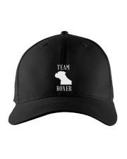 Team Boxer Dog Embroidered Hat thumbnail