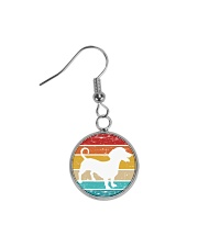 Dachshund Love Circle Earrings thumbnail
