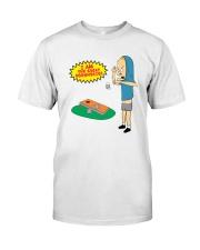 The Great Cornholio Shirt Classic T-Shirt front