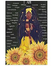 I Am Africa 11x17 Poster front