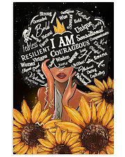 I Am Courageous 11x17 Poster front