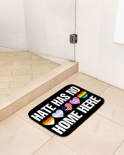 """When Hate Is Loud Love Must Not Be Silent Bath Mat - 24"""" x 17"""" aos-accessory-bath-mat-24x17-lifestyle-front-01"""