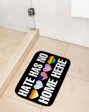 """When Hate Is Loud Love Must Not Be Silent Bath Mat - 24"""" x 17"""" aos-accessory-bath-mat-24x17-lifestyle-front-02"""