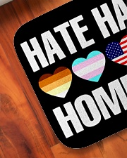 """When Hate Is Loud Love Must Not Be Silent Bath Mat - 24"""" x 17"""" aos-accessory-bath-mat-24x17-lifestyle-front-05"""