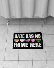 """When Hate Is Loud Love Must Not Be Silent Bath Mat - 24"""" x 17"""" aos-accessory-bath-mat-24x17-lifestyle-front-06"""
