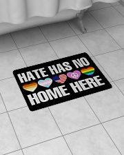 """When Hate Is Loud Love Must Not Be Silent Bath Mat - 24"""" x 17"""" aos-accessory-bath-mat-24x17-lifestyle-front-07"""