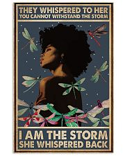 I Am The Storm She Whispered Back Style 2 11x17 Poster front