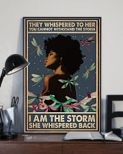 I Am The Storm She Whispered Back Style 2 11x17 Poster lifestyle-poster-2