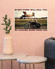 Motorbike Choose Something Fun 3 17x11 Poster poster-landscape-17x11-lifestyle-21