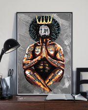 I Am Black Man 11x17 Poster lifestyle-poster-2