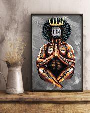 I Am Black Man 11x17 Poster lifestyle-poster-3
