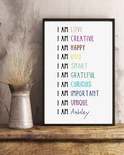 I Am Love I Am Creative 11x17 Poster lifestyle-poster-3