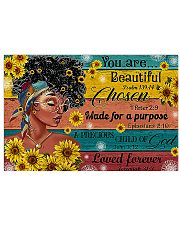 You Are Beautiful 17x11 Poster front