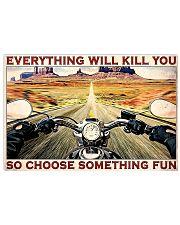 Road Trip Motorbike Something Fun  24x16 Poster front