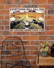 Road Trip Motorbike Something Fun  24x16 Poster poster-landscape-24x16-lifestyle-24