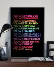 You Are Fabulous 11x17 Poster lifestyle-poster-2