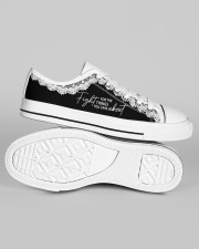 Fight For The Things You Care About Men's Low Top White Shoes aos-men-low-top-shoes-ghosted-white-outside-right-01