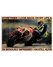 Motorcycle Racing Still Alive 17x11 Poster front