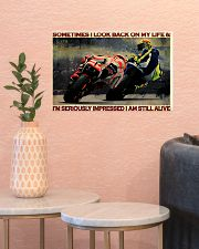 Motorcycle Racing Still Alive 17x11 Poster poster-landscape-17x11-lifestyle-21