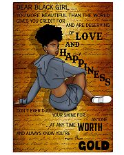 Dear Black Girl 11x17 Poster front