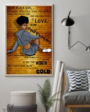 Dear Black Girl 11x17 Poster lifestyle-poster-1