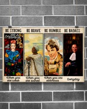 Be Strong Be Brave  24x16 Poster aos-poster-landscape-24x16-lifestyle-19