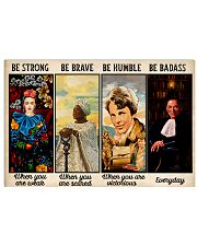 Be Strong Be Brave  24x16 Poster front