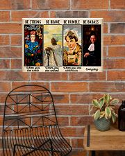 Be Strong Be Brave  24x16 Poster poster-landscape-24x16-lifestyle-24