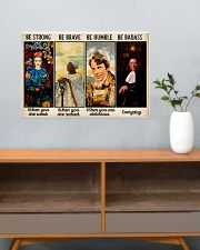 Be Strong Be Brave  24x16 Poster poster-landscape-24x16-lifestyle-25