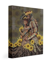 Black Couple Gallery Wrapped Canvas Prints tile