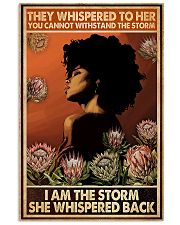 I Am The Storm She Whispered Back 11x17 Poster front