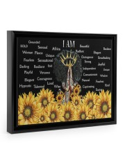 I Am Africa Queen 14x11 Black Floating Framed Canvas Prints thumbnail