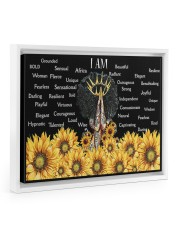 I Am Africa Queen 14x11 White Floating Framed Canvas Prints thumbnail