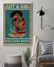 Just A Girl Who Loves Books 11x17 Poster lifestyle-poster-1