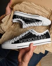 Notorious RGB Men's Low Top White Shoes aos-complex-men-white-low-shoes-lifestyle-19