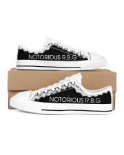 Notorious RGB Men's Low Top White Shoes inside-left-outside-left