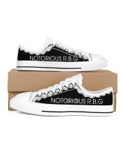 Notorious RGB Men's Low Top White Shoes inside-right-outside-right