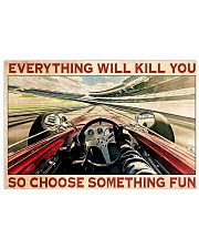 Indianapolis Car Choose Something Fun 17x11 Poster front