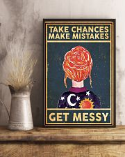 Take Chances Make Mistakes Get Messy 11x17 Poster lifestyle-poster-3