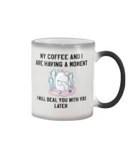 Moomin coffee love Color Changing Mug thumbnail