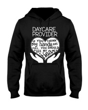 TEE SHIRT DAYCARE PROVIDER Hooded Sweatshirt tile