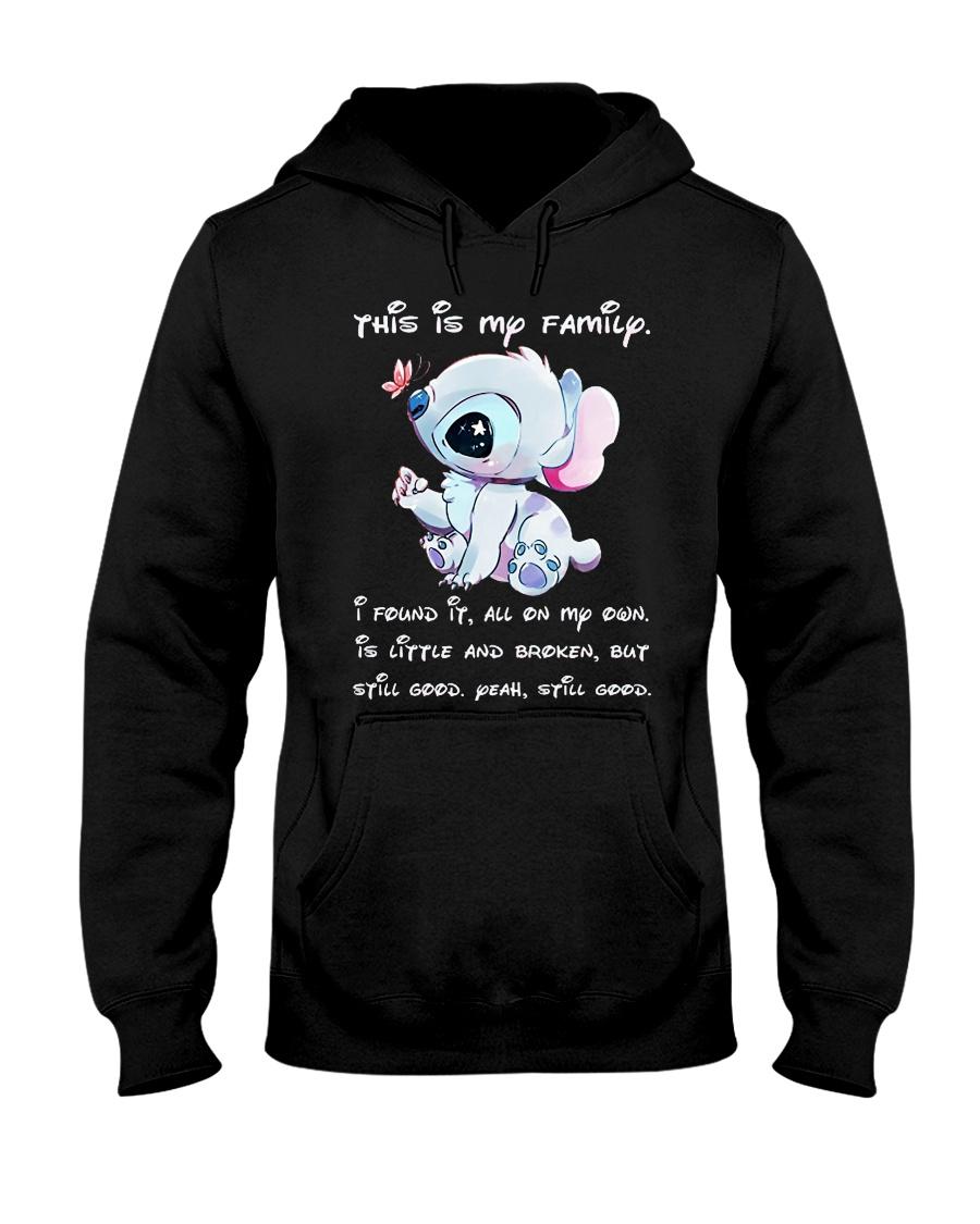 stitch tshirt Hooded Sweatshirt