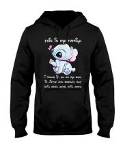 stitch tshirt Hooded Sweatshirt front