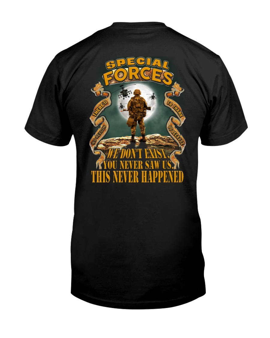 SPECIAL FORCES - THERE'S NO REASON Classic T-Shirt