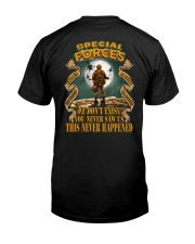 SPECIAL FORCES - THERE'S NO REASON Classic T-Shirt back