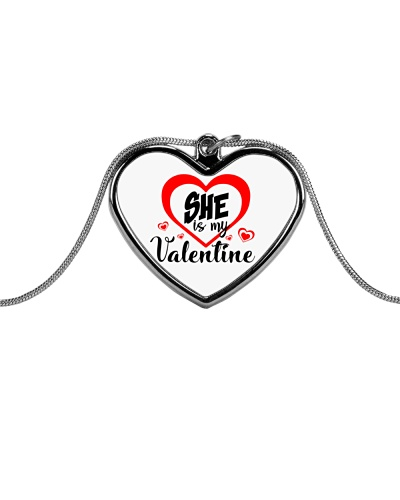 Men's She's my Valentine Valentine's Day jewellery